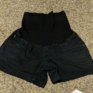 3 pairs maternity shorts